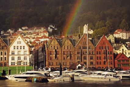 Rainbow in Bergen.