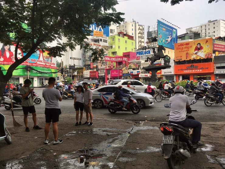 Good morning, Vietnam! First day in Saigon (December 21, 2018).