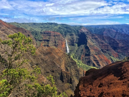 Stunning views at Waimea Canyon National Park...