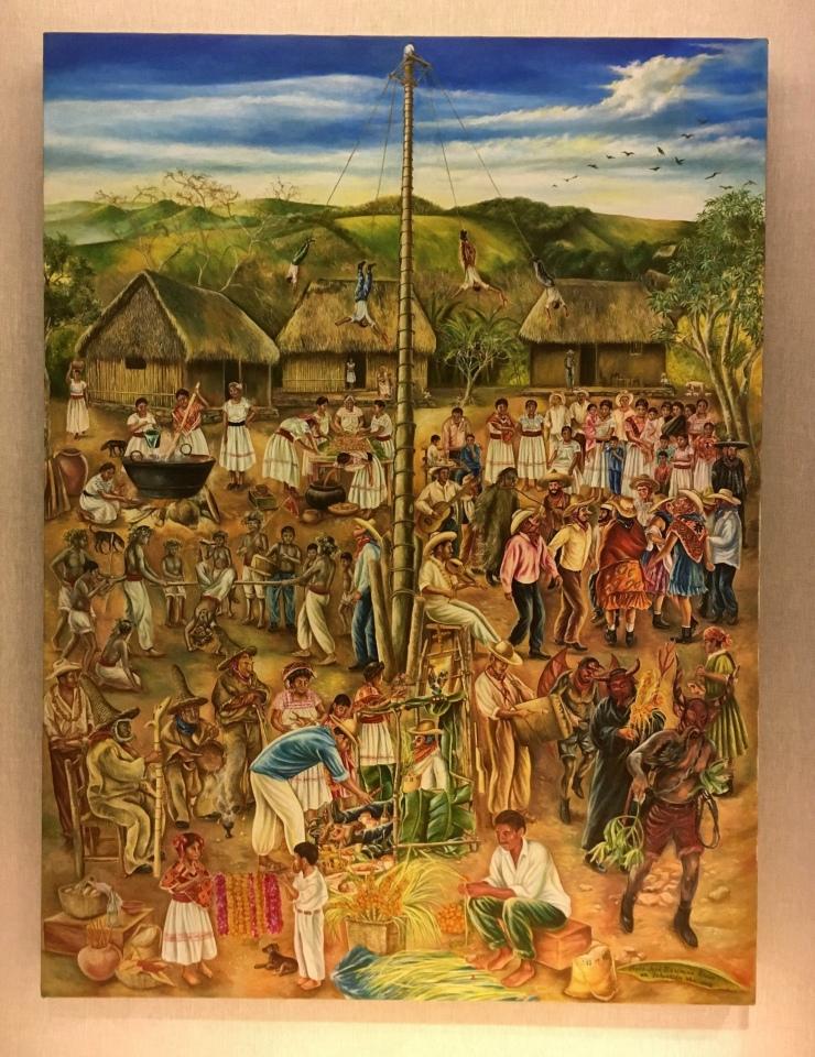 Worshipping el maíz – art depicted in the excellet Museo Nacional de Antropologia.