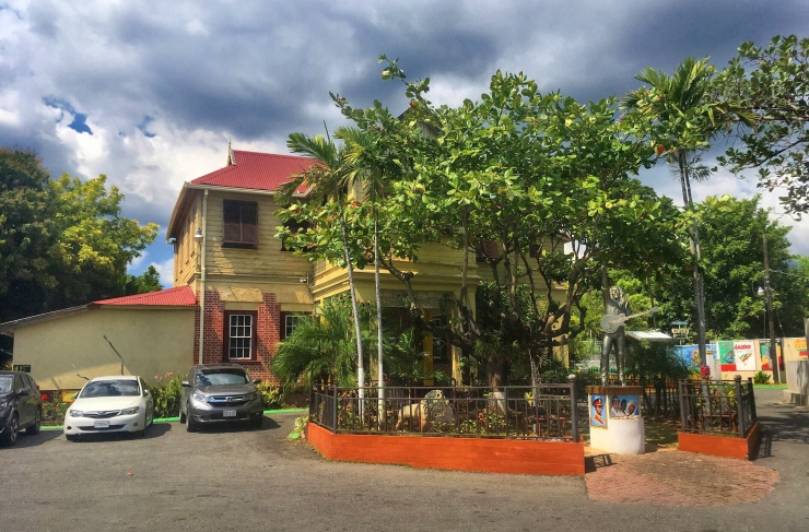 The Bob Marley Museum in Northern Kingston.